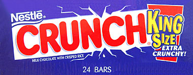 Nestle Crunch King Size 24CT Box