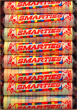 Smarties Mega Candy Rolls 24CT