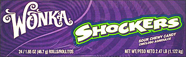 Wonka Shockers 24 1.65oz.