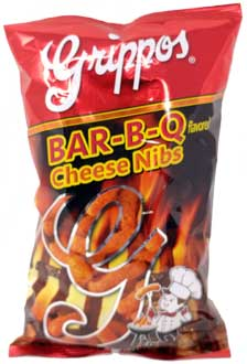 Grippos BBQ Cheese Nibs 12ct