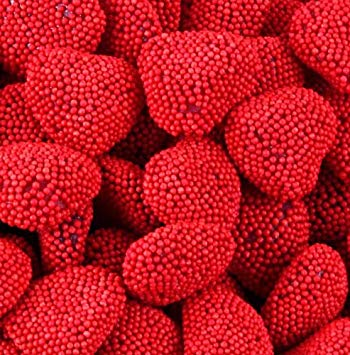 Red Raspberry Hearts 1lb