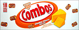 Combos Cheddar Cheese Pretzel 18CT Box