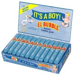 ITS A BOY BUBBLE GUM CIGARS 36CT BOX