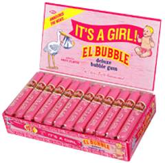 ITS A GIRL BUBBLE GUM CIGARS 36CT BOX